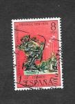 Sellos de Europa - España -  Centenario de la Unión Postal Universal
