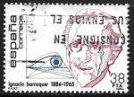 Stamps Spain -  Centenarios - Ignacio Barraquer