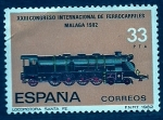 Stamps of the world : Spain :  XXIIICongreso inter. del ferrocarril