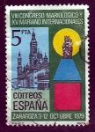 Stamps Spain -  VIII congreso mariologico