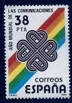 Stamps Spain -  Año mundial de las comunicaciones