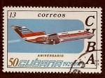Stamps of the world : Cuba :  50 anivr. Aviacion cubana