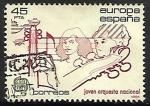 Sellos de Europa - España -  Europa CEPT - Joven Orquesta Nacional