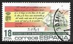Sellos de America - España -  II Centenario de la Bandera Española