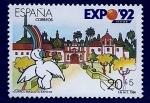 Sellos del Mundo : Europa : España :  Curro mascota expo 92