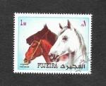 Sellos del Mundo : Asia : Emiratos_Árabes_Unidos : Mi1540A - Caballo