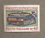 Stamps Italy -  50 Aniversario victoria 1918