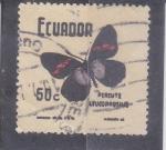 Stamps : America : Ecuador :  MARIPOSA