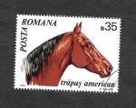 Sellos del Mundo : Asia : Rumania : 2210 - Caballo Mustang