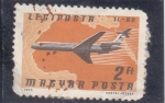 Stamps of the world : Hungary :  AVIÓN 11-62