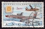 Stamps of the world : Angola :  correo aereo
