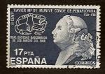 Sellos de Europa - España -  Conde de peñaflorida