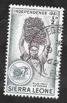 Sellos de Africa - Sierra Leona -  194 - Recolectando fruta