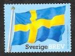Sellos del Mundo : Europa : Suecia : 2973 - Bandera Nacional