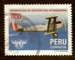 Stamps Peru -  Avion