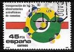 Sellos de Europa - España -  Inauguración de los Observatorios Astrofisicos  de Canarias