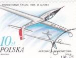 Stamps Poland -  ACROBACIAS AEREAS