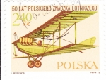 Stamps Poland -  BIPLANO