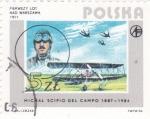 Stamps : Europe : Hungary :  MICHAL SCIPIO DEL CAMPO -PILOTO