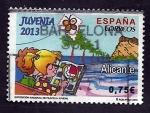 Stamps : Europe : Spain :  Juvenia  2013