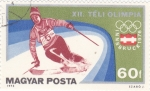 Stamps Hungary -  OLIMPIADA DE INVIERNO INNSBRUCK