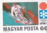 Stamps Hungary -  OLIMPIADA DE INVIERNO SAPPORO.72