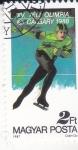 Stamps Hungary -  OLIMPIADA DE INVIERNO CALGARY,88