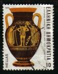 Sellos de Europa - Grecia -  Jarra