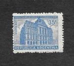 Sellos de America - Argentina -  Edificio