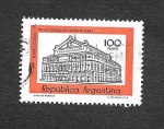 Stamps Argentina -  Edificio