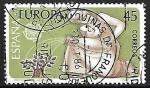 Stamps Spain -   Europa - Protección de la naturaleza y el medio ambiente