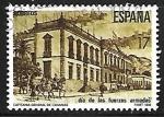 Stamps Spain -  Dia de las Fuerzas Armadas - Capitania general de Canarias
