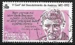 Stamps Spain -  Centenário del Descubrimiento de América - Aristóteles
