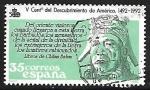 Stamps Spain -  Centenário del Descubrimiento de América - Indígena Precolombino