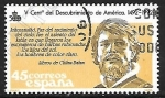 Sellos de Europa - España -  Centenário del Descubrimiento de América - Extranjero de barbas rubicundas