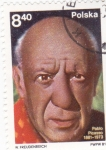 Stamps : Europe : Poland :  PABLO PICASSO