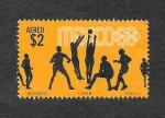 Stamps Mexico -  C337 - JJOO México