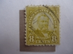 Stamps United States -  Ulysses S. Grant (1822-1885), 18th president of the U.S.A. 1869/77.