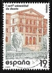 Sellos de America - España -  Centenarios - Universidad de Deusto
