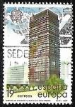 Stamps Spain -  Europa - Arte modernas. Arquitectura