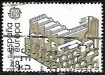 Sellos de Europa - España -  Europa. Artes. Arquitectura - Museo Nacional de arte romano de Mérida