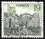 Sellos de Europa - España -  Turismo - Ruinas de Santa María d'ozo