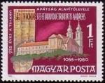 Stamps Hungary -  Abadía y obra benedictinos de Tihany