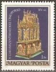 Stamps : Europe : Hungary :  Ataúd de Pascua de Garamszentbenedek