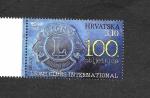 Sellos de Europa - Croacia -  Centenario de la Asociación Internacional de Clubes de Leones (Rotary)