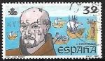 Stamps Spain -  V Centenário del descubrimiento de América - Fray Juan Pérez