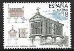 Stamps Spain -  Turismo - Arquitectura Popular