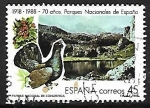 """Stamps of the world : Spain :  Turismo - Parques Nacionales """"Covadonga"""""""