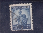 Stamps Italy -  justicia