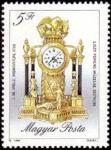 Sellos de Europa - Hungría -  Mantel clock, 1790